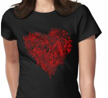 strange affections Womens Fitted T-Shirt