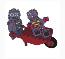 joy riding robots Kids Clothes