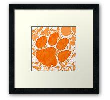 Go Tigers! Framed Print