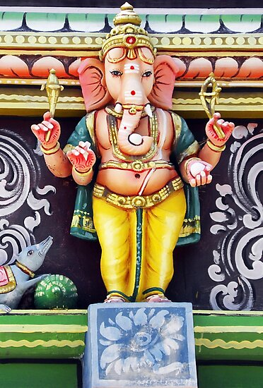 Ganesha Hindu God Statue by BluedarkArt
