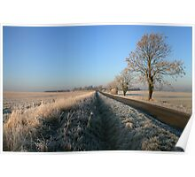 Birthorpe Road Frost Poster