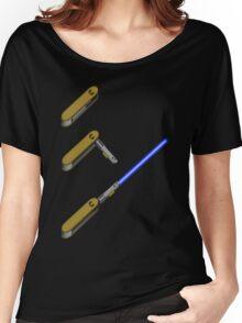 light-swiss-knife-blue-3 Women's Relaxed Fit T-Shirt