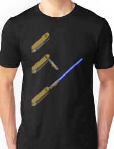 light-swiss-knife-blue-3 Unisex T-Shirt