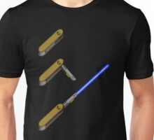 light-swiss-knife-blue-3 Unisex T-Shirt