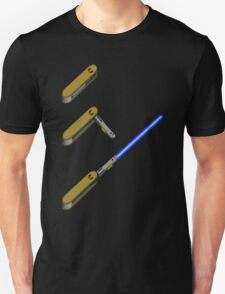 light-swiss-knife-blue-3 T-Shirt