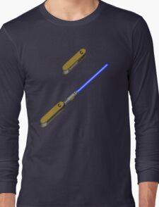 light-swiss-knife-blue-2 Long Sleeve T-Shirt