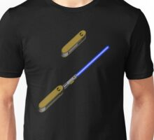 light-swiss-knife-blue-2 Unisex T-Shirt
