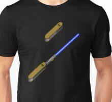 light-swiss-knife-blue-2 Unisex T-Shirt