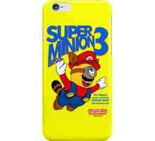 Super Minion Bros 3 iPhone Case/Skin
