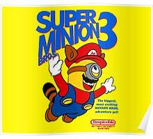 Super Minion Bros 3 Poster