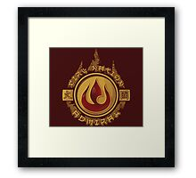 Fire Nation Admiral Framed Print