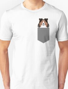 Jordan - Shetland Sheep Dog gifts for sheltie owners and dog people gift ideas perfect dog gifts Unisex T-Shirt