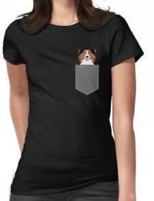 Jordan - Shetland Sheep Dog gifts for sheltie owners and dog people gift ideas perfect dog gifts Womens Fitted T-Shirt