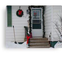 Winter scene #2 Canvas Print