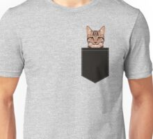 Ripley - Tabby cat gifts for cat lovers and cat lady gift ideas. Tabby cat owner gifts Unisex T-Shirt