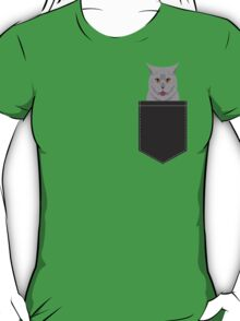 Kai - British shorthair cat themed gift ideas for cat lovers and cat people. cat lady gifts.  T-Shirt