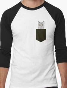 Cameron - Egyptian Mau cat gifts. cat owner gifts. perfect cat themed gift ideas Men's Baseball ¾ T-Shirt