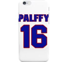 National Hockey player Ziggy Palffy jersey 16 iPhone Case/Skin