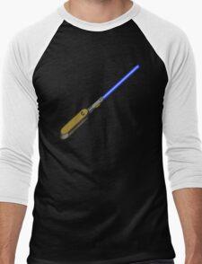 light-swiss-knife-blue-1 Men's Baseball ¾ T-Shirt