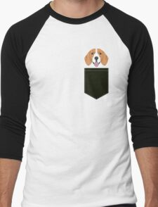 Darby - Beagle phone case gift ideas for beagle owners and gifts for dog person Men's Baseball ¾ T-Shirt