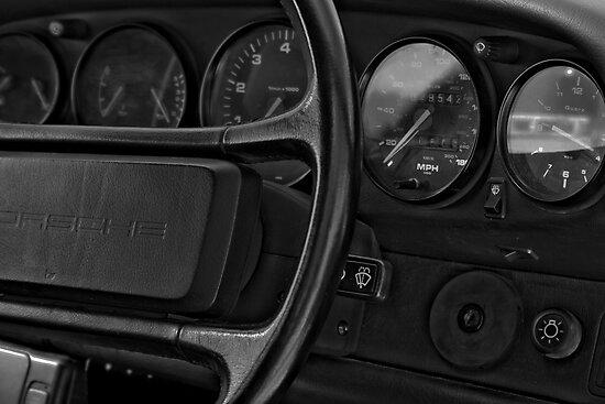 Behind The Wheel by Dave Warren