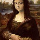 ACEO Mona Lisa I by John Houle