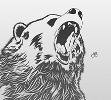 Angry Bear by guillaume bachelier