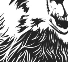 Angry Bear Sticker