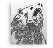 Angry Bear Canvas Print