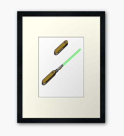 light-swiss-knife2 Framed Print
