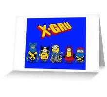 X-GRU Greeting Card