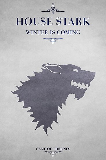House Stark - Game of Thrones by guillaume bachelier