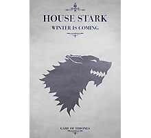 House Stark - Game of Thrones Photographic Print