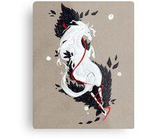 HORSE RIBBONS Metal Print