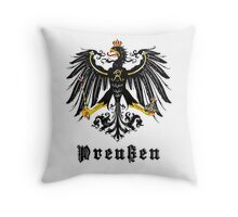 Prussia Flag Throw Pillow