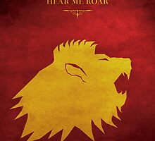 House Lannister - Game of Thrones by guillaume bachelier