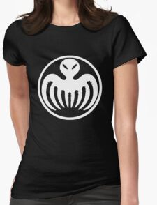 White Spectre Womens Fitted T-Shirt