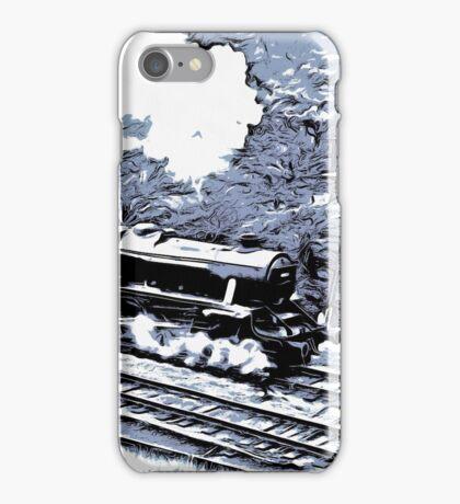 Scarborough Spa Express Graphic Novel iPhone Case/Skin