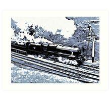 Scarborough Spa Express Graphic Novel Art Print