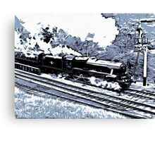 Scarborough Spa Express Graphic Novel Canvas Print