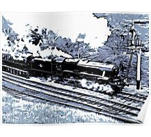 Scarborough Spa Express Graphic Novel Poster