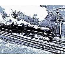 Scarborough Spa Express Graphic Novel Photographic Print