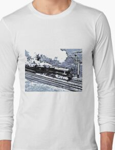 Scarborough Spa Express Graphic Novel Long Sleeve T-Shirt