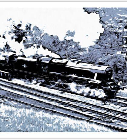 Scarborough Spa Express Graphic Novel Sticker