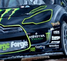 Liam Doran RallyCross Monster Citreon DS3 Sticker