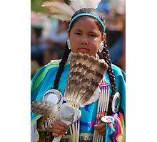 pow wow girl Photographic Print