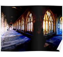 Chichester Cathedral Cloisters Poster