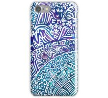 Angels above the Earth iPhone Case/Skin