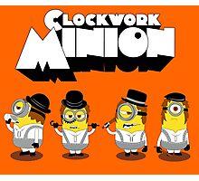 Clock Work Minion Photographic Print