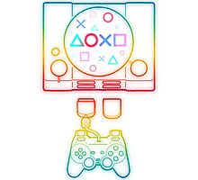 PlayStation Tribute Photographic Print